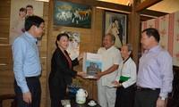 Нгуен Тхи Ким Нган совершила рабочую поездку в провинцию Диенбиен