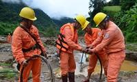 Во Вьетнаме продолжается работа по ликвидации последствий тайфуна «Доксури»