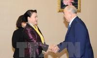 Нгуен Тхи Ким Нган завершила официальный визит в Казахстан
