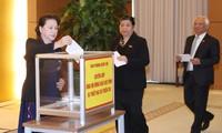 Сотрудники НС СРВ сделали пожертвования в помощь пострадавшим от тайфуна Дамри