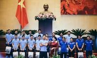 Сборная Вьетнама U23 добилась блестящих успехов на молодёжном чемпионате Азии по футболу