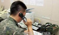 Две Кореи полностью восстановили западную линию связи между военными