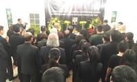 Генеральное консульство СРВ в Шанхае и посольство СРВ в Польше организовали церемонию прощания с Чан Дай Куангом