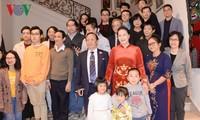 Нгуен Тхи Ким Нган встретилась с представителями вьетнамской диаспоры в Бельгии