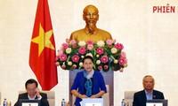Открылось 33-е заседание Постоянного комитета Национального собрания Вьетнама