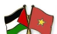 Поздравительные телеграммы в адрес нового правительства Палестины