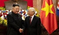 Поздравительные телеграммы в адрес новых руководителей КНДР