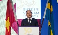 Вьетнамо-шведский бизнес-форум в Стокгольме
