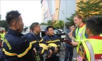 Вьетнам принял участие в конкурсе лучших поисково-спасательных отрядов в Малайзии