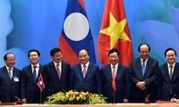 สร้างพลังขับเคลื่อนใหม่เพื่อทำให้ความร่วมมือระหว่างเวียดนาม - ลาวมีประสิทธิภาพและเป็นรูปธรรมมากขึ้น