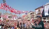 Pemilih Turki melakukan pemungutan suara tentang revisi Undang-Undang Dasar