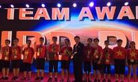 Rombongan pelajar Vietnam menggondol 9 medali di Olimpiade Matematika Dunia