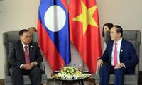 Pres. Vietnam, Tran Dai Quang bertemu dengan  para pemimpin peserta Pekan Tingkat Tinggi APEC