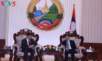 PM Laos memberikan penilaian tinggi terhadap dukungan dan bantuan VOV