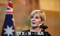 Australia  memprotes tindakan militerisasi yang dilakukan Tiongkok di Laut Timur