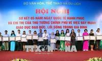 Deputi PM Vietnam, Vu Duc Dam: Supaya ada kehidupan bahagia perlu berfokus melaksanakan dengan baik 3 tugas