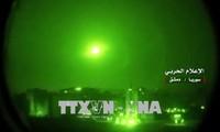 Tentara Suriah mencegat rudal Israel