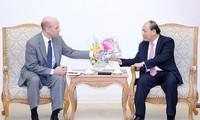 PM Vietnam, Nguyen Xuan Phuc menerima Direktur Eksekutif Perusahaan PepsiCo urusan kawasan Asia, Timur Tengah dan Afrika Utara