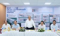 PM Vietnam, Nguyen Xuan Phuc mengunjungi  pabrik pengolahan agribisnis di Provinsi Tay Ninh