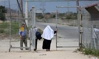 Isreal membuka kembali koridor Erez dengan Jalur Gaza