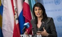 AS menyampaikan kepada DK PBB rancangan resolusi memberikan sanksi terhadap perilaku yang salah  dari para prajurit penjaga perdamaian