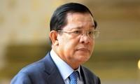 Perdana Menteri (PM) Kamboja datang ke  Vietnam untuk melayat Presiden Tran Dai Quang