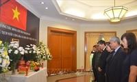 Pimpinan beberapa negara, Partai, Ormas dan Asosiasi diaspora Vietnam menyatakan perasaan sayang kepada Presiden Tran Dai Quang