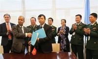 Vietnam dan PBB menandatangani nota kesepahaman tentang pengiriman rumah sakit lapangan ke Sudan Selatan