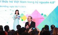Pembukaan Forum pertama  intelektual muda Vietnam di seluruh dunia