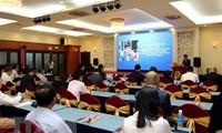 Dialog antara pimpinan dinas dan instansi di Kota Ho Chi Minh dengan badan usaha diaspora