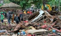 Tsunami di Indonesia: Jumlah korban meningkat tinggi