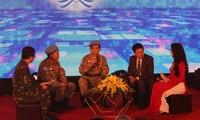 "Direktorat Penjaga Perdamaian Vietnam menyelenggarakan temu muka ""Sayap-sayap burung perdamaian"""
