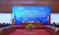 Pembukaan Konferensi jaringan legislator perempuan dan Konferensi Komite Pendidikan, Kebudayaan Uni Parlemen Francophonie
