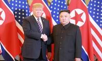 Mengikhtisarkan kembali detik-detik Presiden Donald Trump dan Pemimpin RDRK, Kim Jong-un pada Pertemuan Puncak ke-2 AS-RDRK di Ibukota Ha Noi