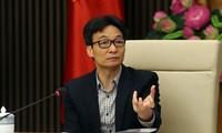 越南政府副总理武德担与教育培训部门举行交班会