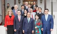 Aktivitas PM Nguyen Xuan Phuc di Rumania