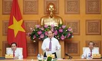 PM Nguyen Xuan Phuc melakukan temu kerja dengan Pengurus Besar Front Tanah Air Vietnam