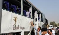 Mesir mengeluarkan pengumuman tentang ledakan yang menyasar pada  bis wisata