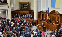 Parlemen Ukraina menolak rekomendasi tentang pembaruan pemilihan dari Presiden baru, V.Zelenskiy