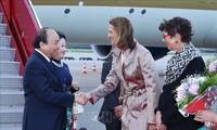PM Nguyen Xuan Phuc tiba di Oslo, mulai melakukan kunjungan resmi di Kerajaan Norwegia