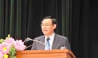 Deputi PM Vietnam, Vuong Dinh Hue menghadiri Kongres Akutansi dan Pemeriksaan Keuangan Vietnam
