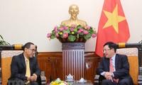 Deputi PM, Menlu Vietnam, Pham Binh Minh menerima Duta Besar Luar Biasa dan Berkuasa Penuh Thailand di Vietnam, Tanee Sangrat