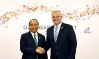 Kunjungan yang dilakukan PM Australia ke Vietnam akan menciptakan tenaga pendorong dan fundasi baru bagi hubungan dua negara