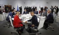 Trump ne voit pas de tension au G7 sur la guerre commerciale
