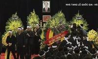 Hommage solennel au président Trân Dai Quang