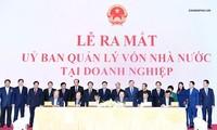 Le PM à la cérémonie de naissance du Comité de gestion des capitaux d'état chez les entreprises