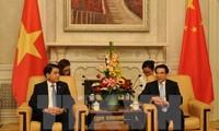Hanoi, Beijing promote cooperation