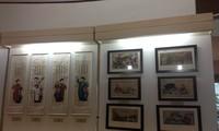 Twelve typical Vietnamese folk paintings exhibit in Ha noi