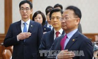 South Korean president reshuffles cabinet