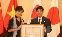 Japanese film director awarded Vietnam's Friendship Order